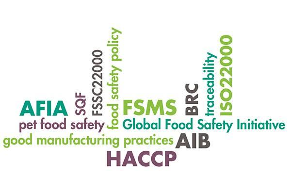 The role of third-party food safety standards in pet food supply