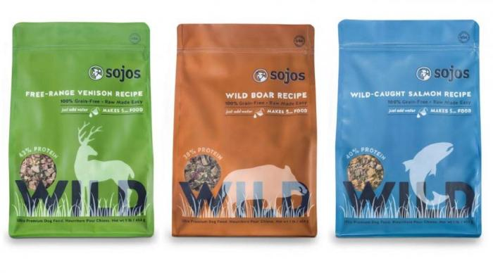Sojos Wild pet food