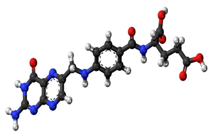 folic-acid-molecule
