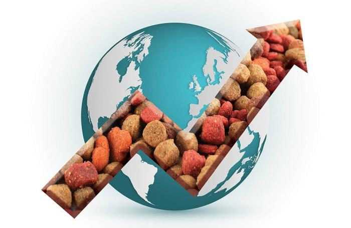 """global pet food market growth trends The report covers the present scenario and the growth prospects of the global pet food market report titled """"global pet food market: size, trends and."""