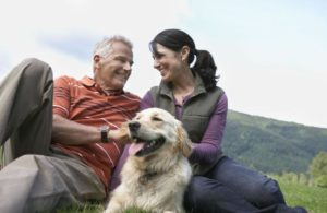 middle-aged-couple-with-dog