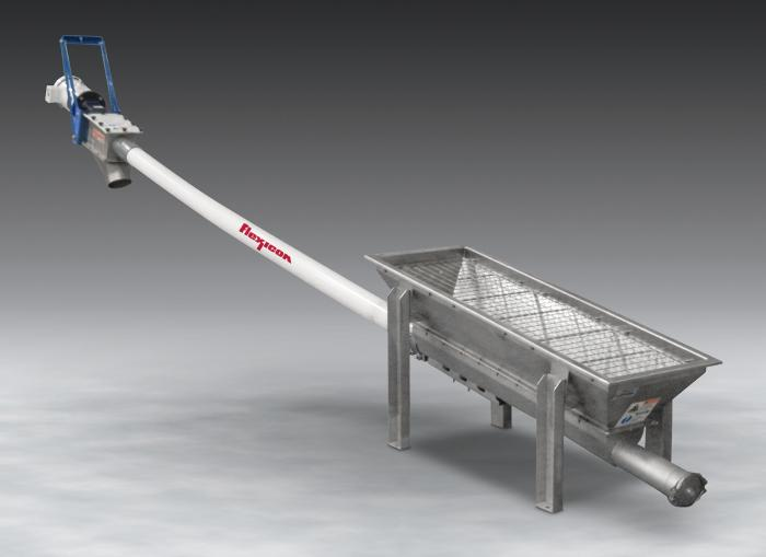 Flexicon-conveyor-with-hopper