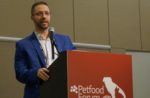 Justin Emig speaks at Petfood Forum