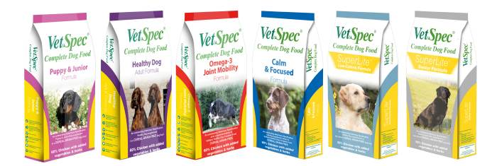 VetSpec-premium-dog-food-range