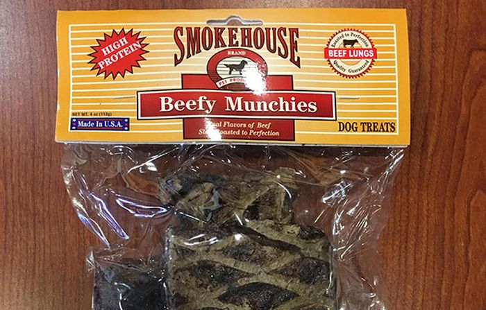 Smokehouse Pet Merchandise recollects Beef Munchies canine treats