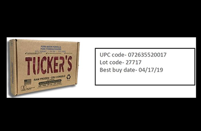 Uncooked Fundamentals recollects Tucker's uncooked pet food for Salmonella