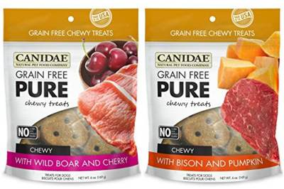 CANIDAE-Grain-Free-PURE-Chewy-Dog-Treats