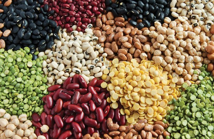 assorted legumes beans