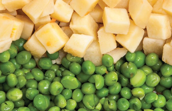 Peas-and-potatoes