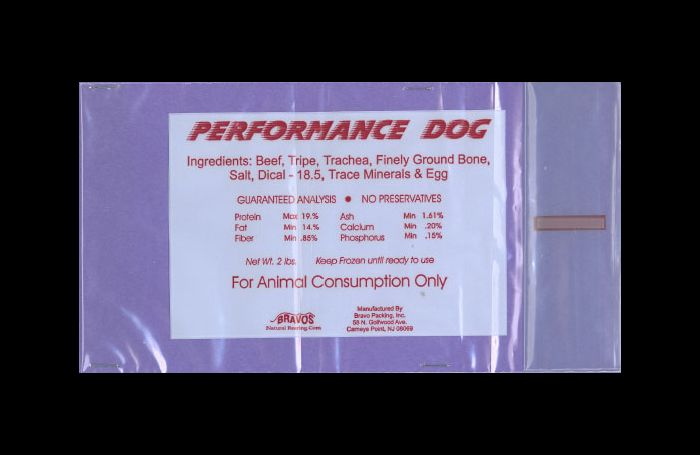 Bravo Packing remembers Efficiency Canine uncooked pet meals