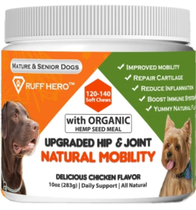 Ruff-Hero-Organic-Hip-&-Joint-Supplement