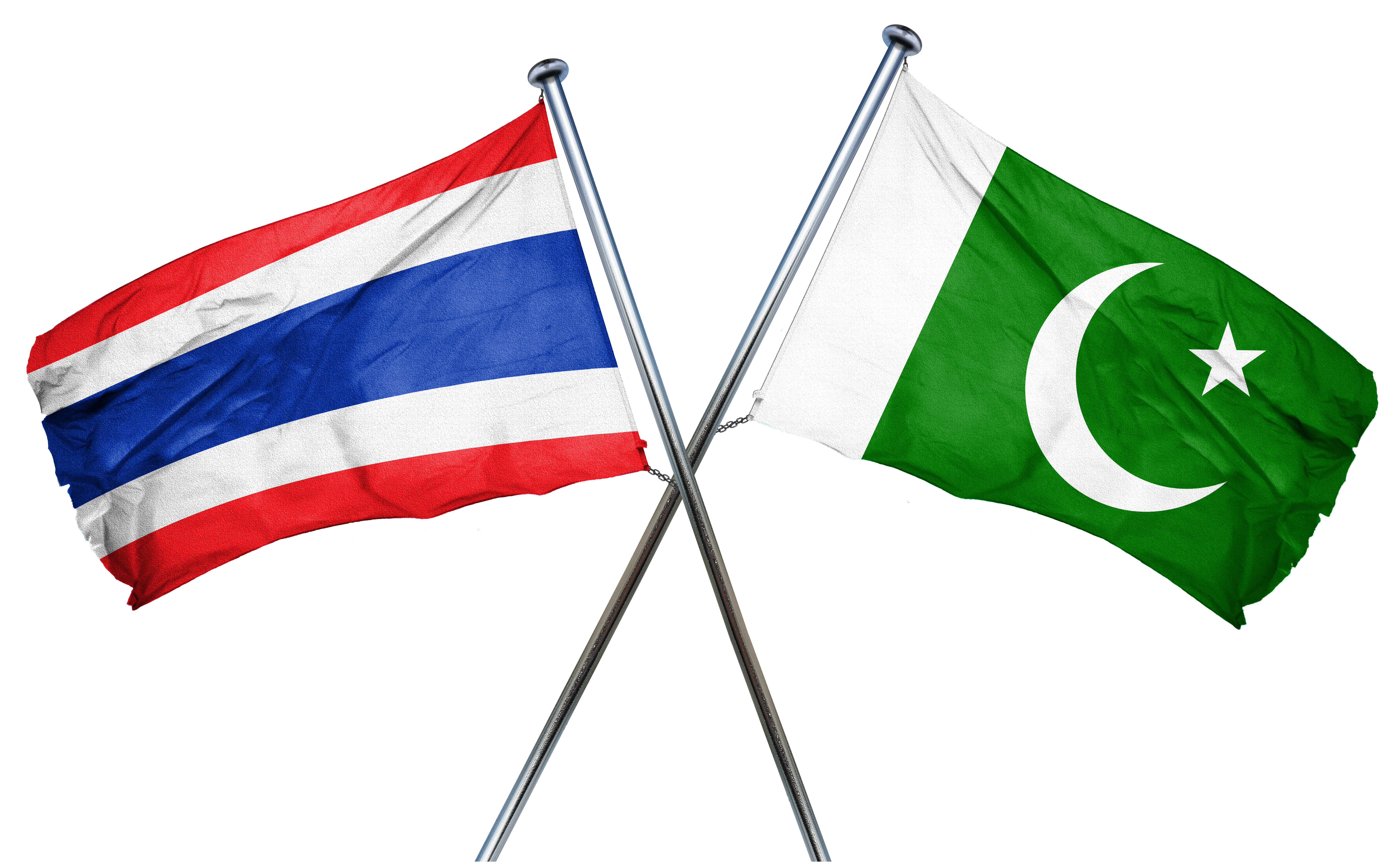 bigstock-Thailand-flag-with-Pakistan-fl
