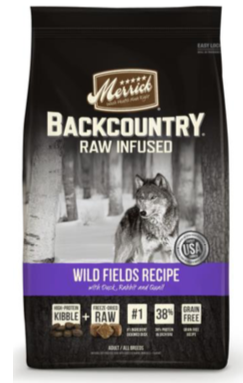 Merrick-Pet-Care-Backcountry-Raw-Infused-dog-food