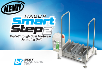 Best-Sanitizers-Inc.-HACCP-SmartStep2-Walk-Through-Dual-Footwear-Sanitizing-Unit