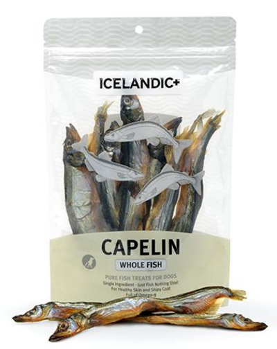 Icelandic+-Capelin-Whole-Fish-dog-treats