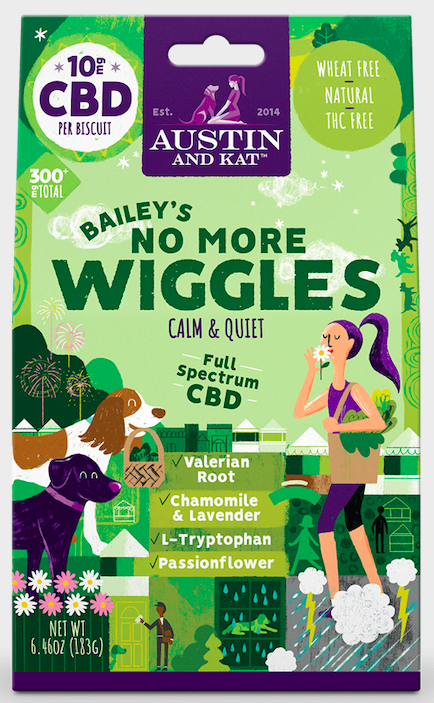 Austin-and-Kat-Bailey's-No-More-Wiggles-CBD-dog-biscuits