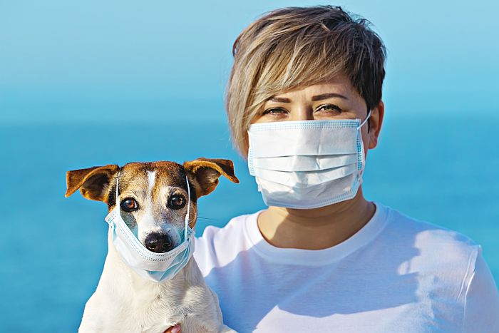 Dog-woman-wearing-face-mask-disease-coronavirus-covid-19