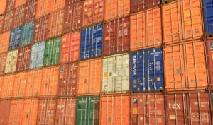 Export shipping containers