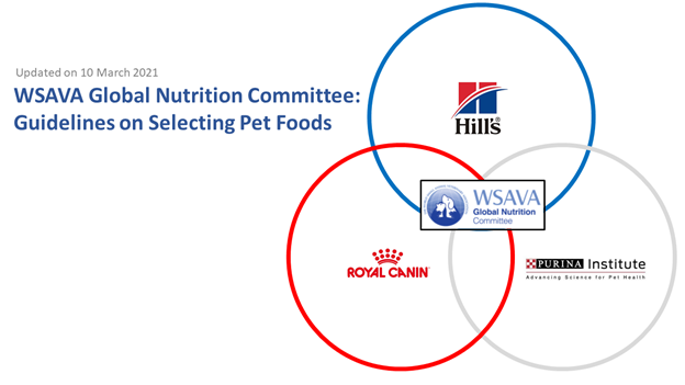 WSAVA, part 2: Pet food recommendations are now guidelines