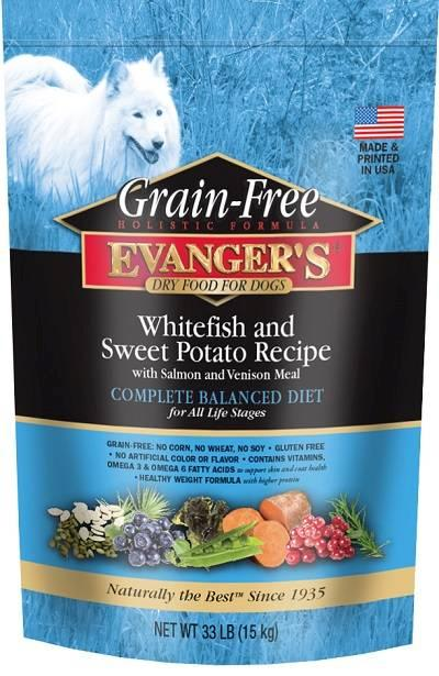 Evanger's Grain Free Whitefish and Sweet Potato Dry Food.jpg