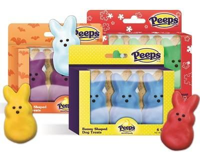 Fetch For Pets! PEEPS baked treats.jpg