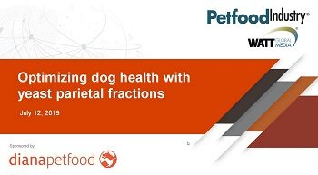 Optimizing dog health with yeast parietal fractions