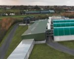 Aerial shot of GA Pet Food Partners manufacturing facility