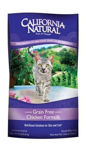 Natura Pet Products Inc California Natural Grain Free